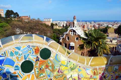Barcelona y Parque Güell: tour privado medio día y recogida