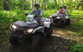 Double or Single Rider ATV Jungle Tour