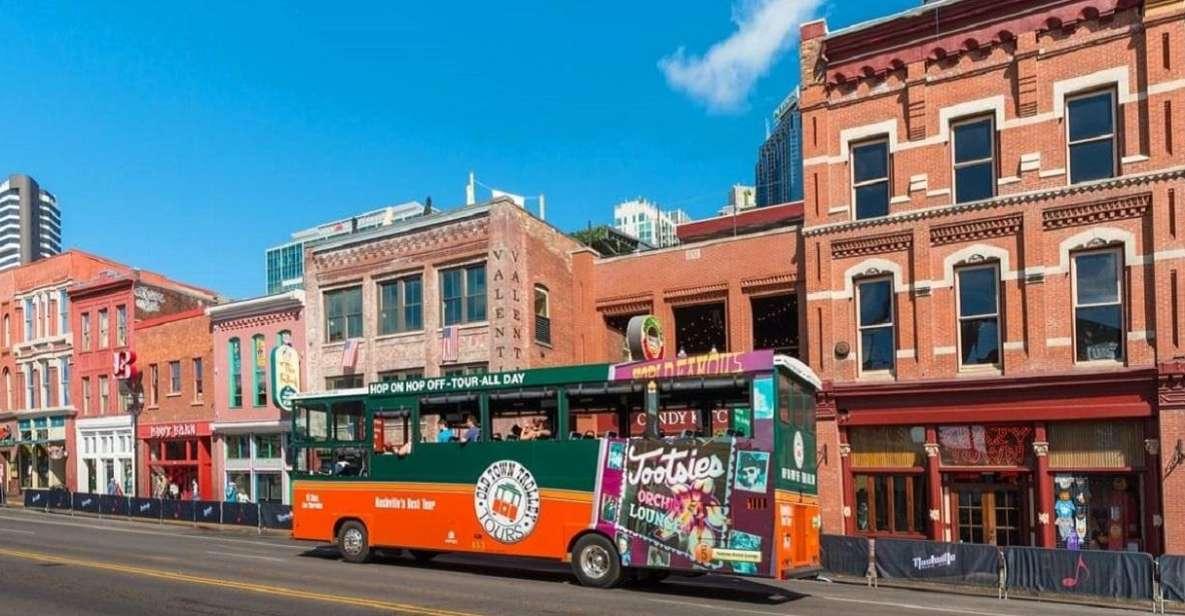 Nashville Hop-on Hop-off Trolley