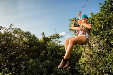 Puerto Morelos: Zip Lining and Quad Bike Jungle Adventure