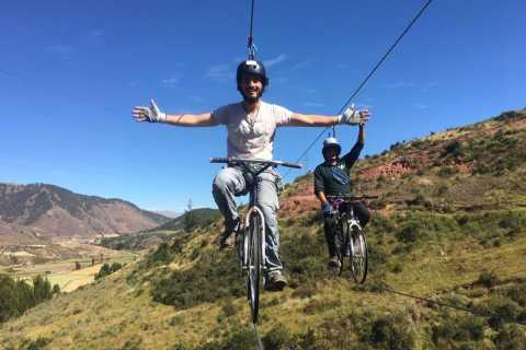 Cusco: Extreme Sky Bike and Rappelling Adventure