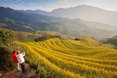 Excursão de dia inteiro em Longsheng Minoria Étnica e Terraços de arroz