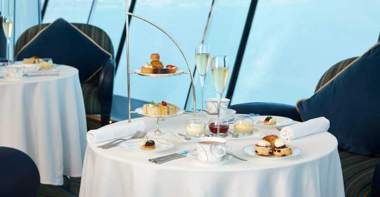 Burj Al Arab: Afternoon Tea in SkyView Bar on the 27th Floor