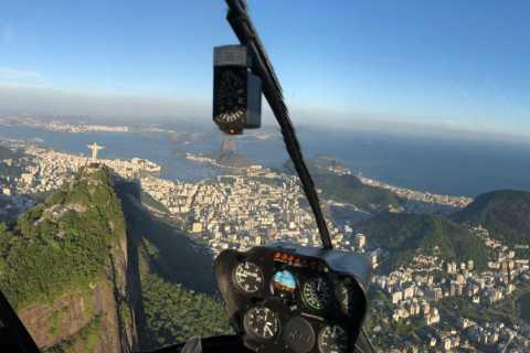 Rio de Janeiro: 30- eller 60-minutters tur med helikopter