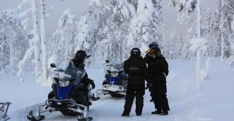 Rovaniemi: Moto de Neve Renas, Huskys e Aldeia do Papai Noel
