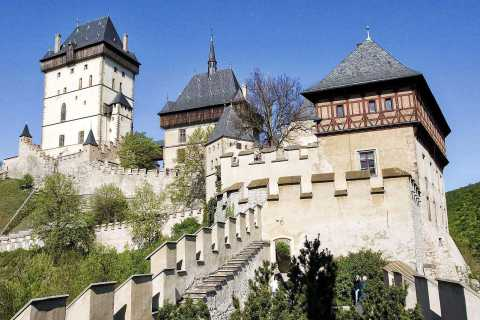 From Prague: Half-Day Karlstejn Castle Tour