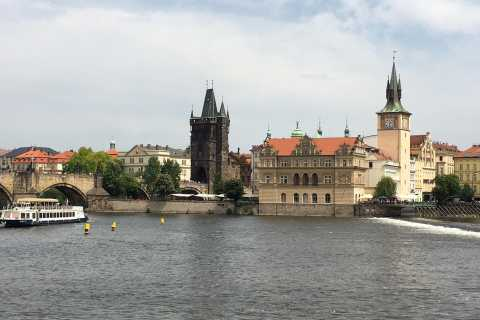 Prague: 2-Hour Night Cruise with Dinner