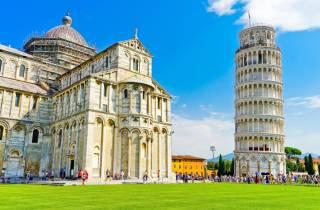 Ab Livorno: Landausflug nach Pisa mit Schiefem Turm