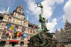 Antuérpia: passeio turístico a pé gratuito com taxa de reserva