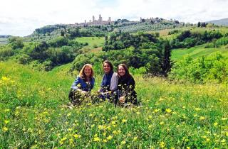 Von Rom: 18-39 toskanische Weintour und San Gimignano
