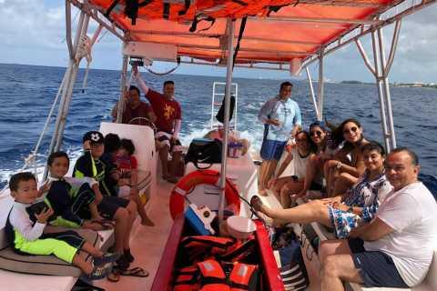 Cozumel: Snorkeling Trip to 3 Reefs by Glass-Bottom Boat