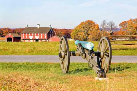 Gettysburg: Tour guiado histórico pelo campo de batalha a cavalo