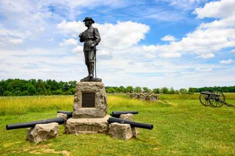 Gettysburg: Excursão de carruagem guiada com licença de 2 horas no campo de batalha