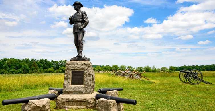 Gettysburg: 2-stündige, lizenzierte Kutschentour durch das Schlachtfeld