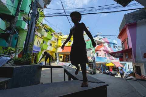 Rio de Janeiro: Besøk favelaen Santa Marta med lokal guide