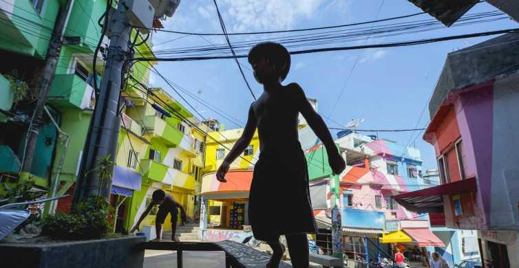 Tour por la favela de Santa Marta con un guía local