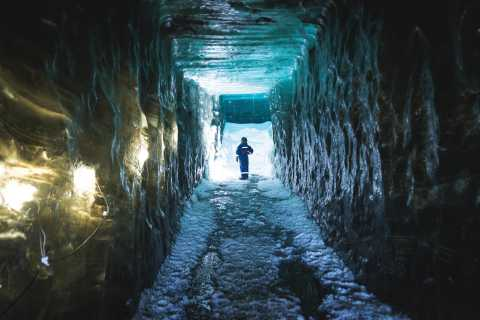 Langjökull Glacier: Ice Cave and Snowmobile Tour