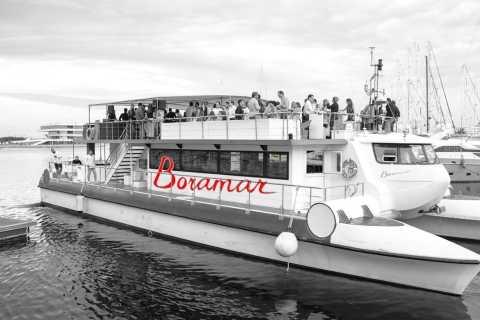 Valencia: rondvaart catamaran met drankje