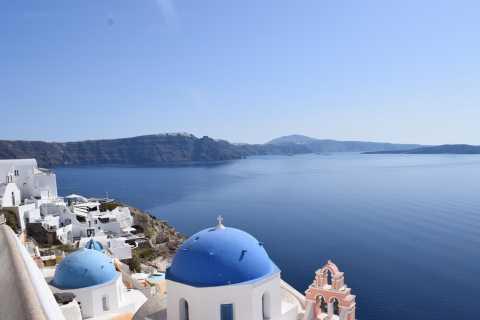 Santorini: tour en autobús a Firostefani, Imerovigli y Oia
