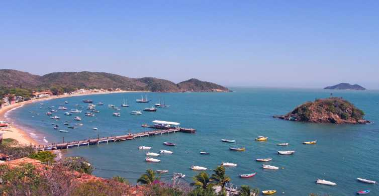 From Rio: Búzios with Boat Tour and Lunch