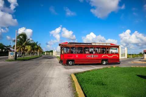 Cozumel: Three Hour Trolley Tour