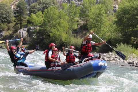 From Granada: Beginner or Intermediate Level Rafting Trip
