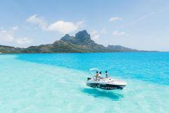 Bora Bora: Pesca na Lagoa