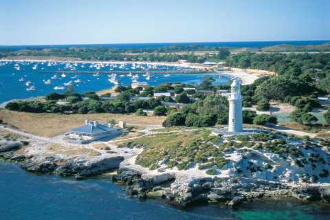 De Perth: viagem de dia inteiro de bicicleta e balsa para a Ilha Rottnest