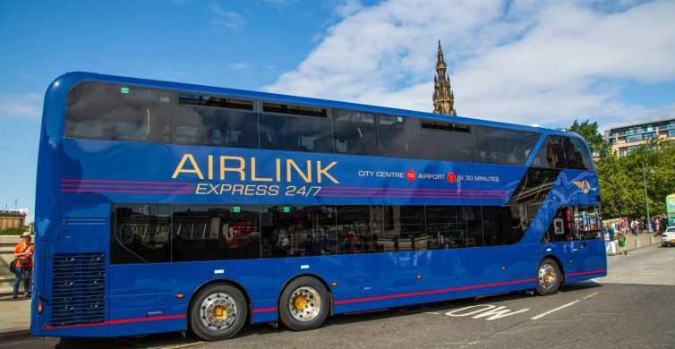 Flughafen Edinburgh: Bustransfer