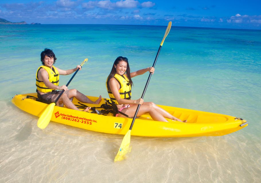 Kailua: 2-Hour Guided Kayak Excursion with Lunch