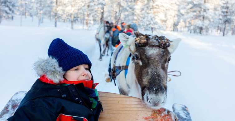 Family Day: Snowmobile, Arctic Animals, and Santa Village