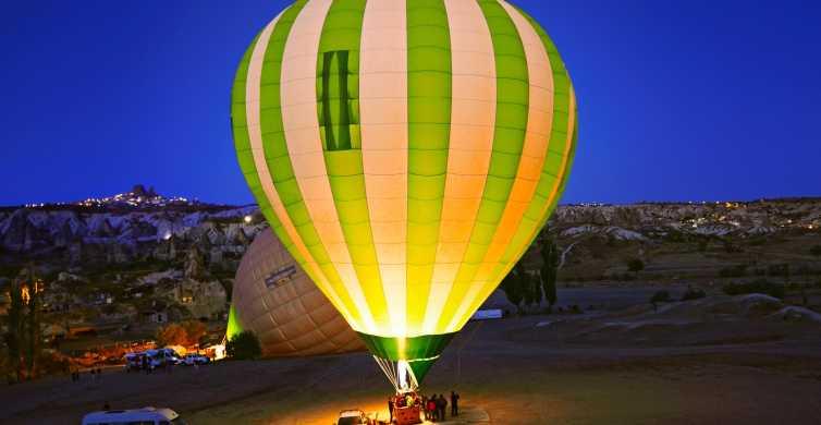 Kapadocja: lot balonem Royal i prywatna wycieczka po Kapadocji