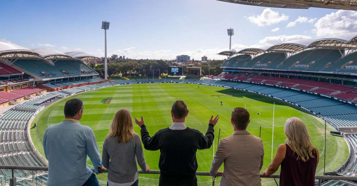 Adelaide Oval Stadium Guided Tour