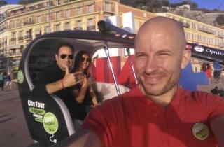 Nizza: Stadtführung per Elektro-Velotaxi