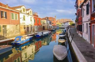 Venedig: Bootsfahrt nach Murano mit Glasbläserei-Besuch