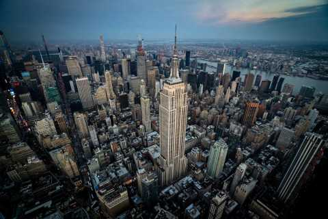 From Westchester: Shared Helicopter Tour over New York City