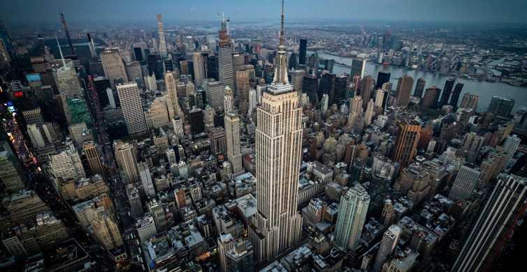 Vanuit Westchester: Gedeelde helikoptervlucht boven New York