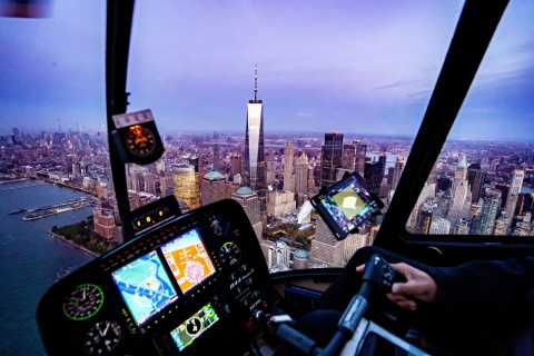 New York City: Helikopter-Rundflug mit Champagner