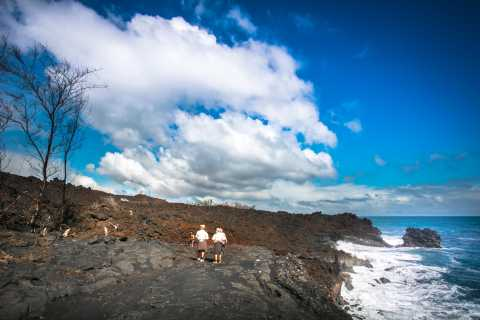 From Kona: Volcano Hike with Wine Tasting and BBQ Dinner
