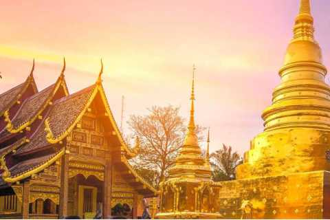 Chiang Mai: 4-Hour Wat Umong and Doi Suthep Evening Tour