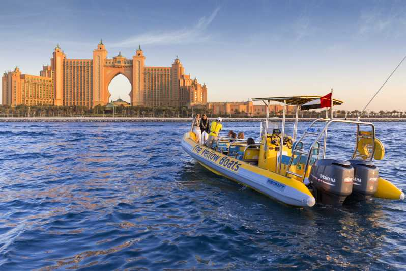 Speed Boat Tours in Dubai - The Vacation Builder