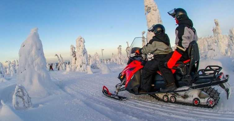 From Sirkka: Lapland Snowmobile Safari in Levi