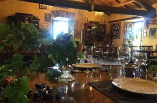Aus Rom: Private Weinprobe auf dem Land mit Mittagessen
