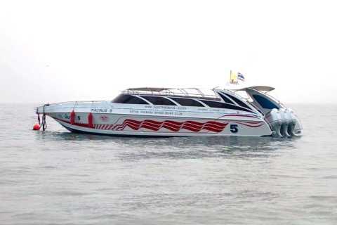 Phuket: traslado en lancha rápida hacia / desde Ko Phi Phi Don