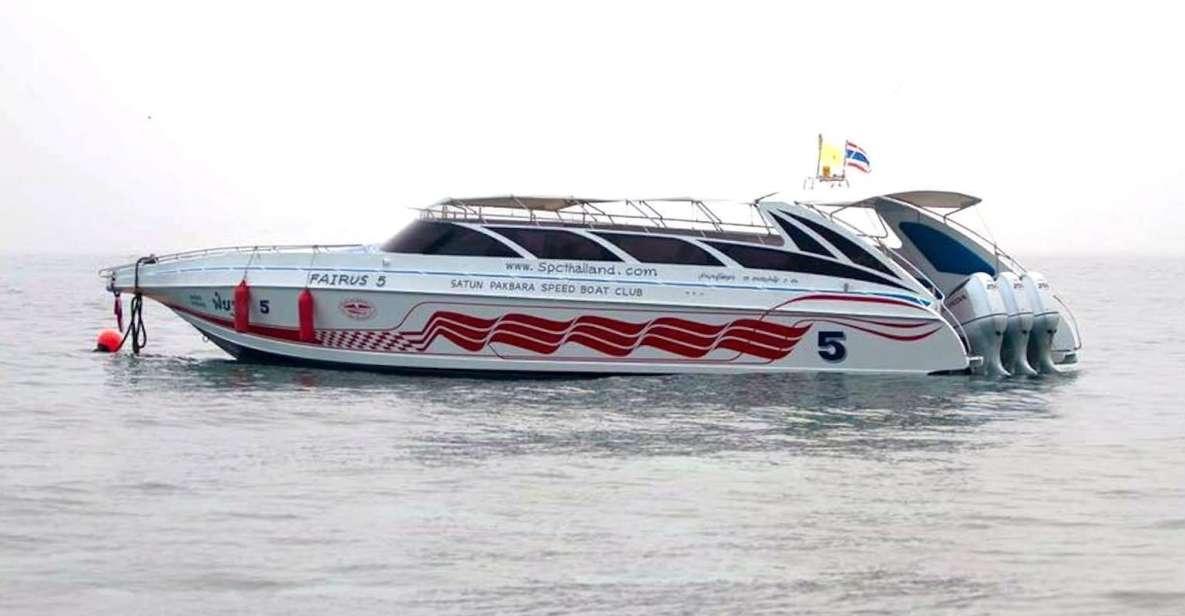 Phuket: transfert en hors-bord vers / depuis Ko Phi Phi Don