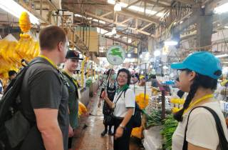 Bangkok: Blumenmarkt und Little India Tour