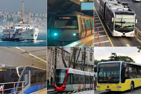 Istanbul: City Transport Card for Bus, Metro, Tram & Ferries