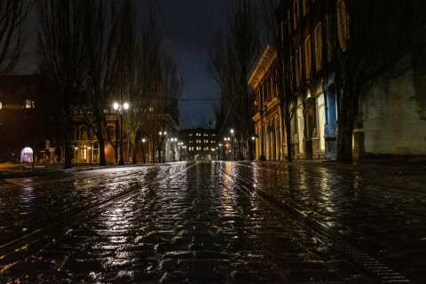 Portland: Downtown Ghost Tour