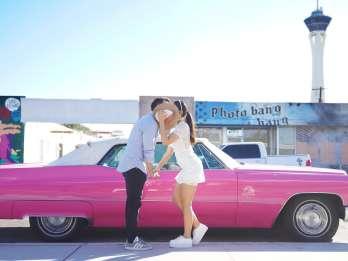 Las Vegas: Hochzeit im Elvis-Stil mit Limousine. Foto: GetYourGuide