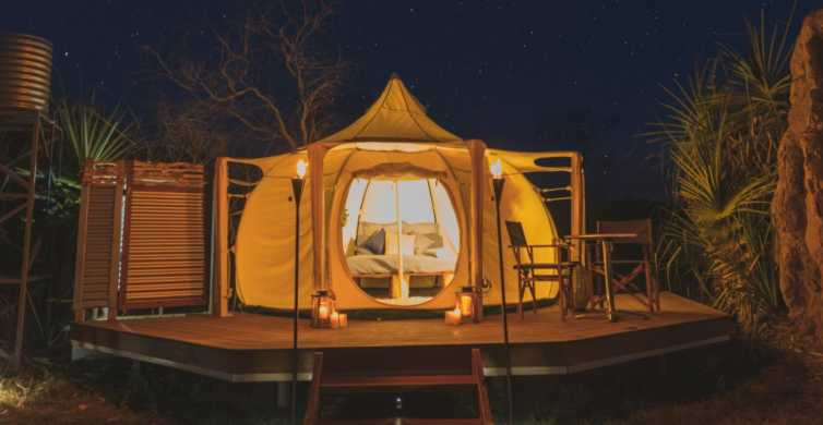 From Darwin: Luxury Glamping Overnight Outback Experience
